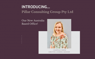 Introducing Pillar Consulting Group Pty Ltd and Chantelle Venter our amazing Australia based Director and General Manager.